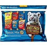 20-Count 1oz. Frito-Lay Chips Multipack (Classic or Flavor Mix) $5.38 + Free Shipping w/ Prime Amazon.com