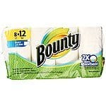 Buy 4 Cleaning Items Get $10 GC: 48-Rolls Bounty Giant Roll Paper Towels + $10 GC $50.36 w/ Store Pickup Target.com