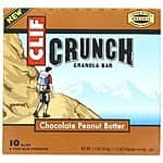 10-Count 1.48oz. Clif Crunch Granola Bar: Chocolate Chip $2.64, Chocolate Peanut Butter $2.29 or Less + Free Shipping Amazon.com