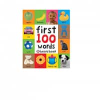 Walmart Deal: Children's Board Books: First 100 Words or Numbers Colors Shapes