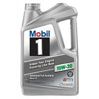 Walmart Deal: 5-Qt Mobil 1 Synthetic Motor Oil (various viscosities)