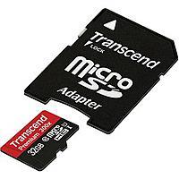 Adorama Deal: Transcend Class 10 Memory Sale: 32GB 300x MicroSDHC or 32GB 300X Flash Memory Card