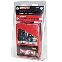 Sears Deal: 21-Piece Craftsman Drill Bit Set (Black Oxide)