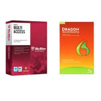TigerDirect Deal: Nuance Dragon Naturally Speaking Home 12 + McAfee Multi-Access 1 User 5 Devices
