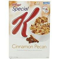 Amazon Deal: Kellogg's Special K Cereal: 12.1-oz Cinnamon Pecan $1.83, 12.7-oz Chocolate Almond $1.89 or Less + Free Shipping Amazon.com