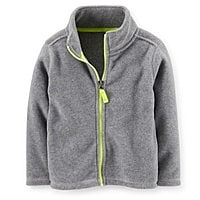Carters Deal: 50% Off Everything: Kids Fleece Jackets & Pullovers $5 Each + Free Shipping Carters.com
