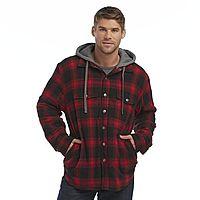 Sears Deal: Craftsman Men's Hooded Flannel Plaid Shirt Jacket $9.99 (Reg. $48) + Free Store Pickup Sears.com (YMMV)
