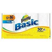 Target Deal: 24-Ct Bounty Basic Big Paper Towels + $5 Target Gift Card