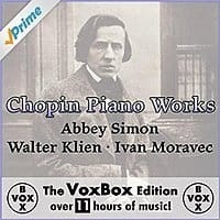 Amazon Deal: Chopin Piano Works: The VoxBox Edition (MP3 Album Digital Download)