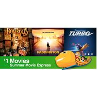 Regal Cinemas Deal: Regal & Cinemark Theatres: Summer Movie (Films for Kids & Family)