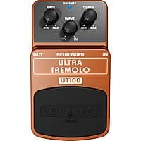 Musician's Friend Deal: Behringer UT100 Ultra Tremolo Guitar Effects Pedal