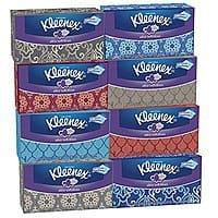 Amazon Deal: 8-Pack of 120-Count Kleenex Ultra Soft Facial Tissues $9.32 or Less (Prime Membes Only) + Free Shipping Amazon.com