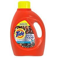 Lowes Deal: 6-Pack 100oz Tide Liquid Laundry Detergent (Various Scents)