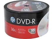 Newegg Deal: 50-Pack HP 4.7GB 16X DVD-R Disc $5.99 + Free Shipping Newegg.com