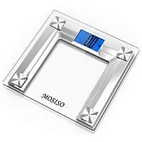 Amazon Deal: Mosiso High Accuracy Backlit Digital Bathroom Scale w/ Smart Step-On Technology