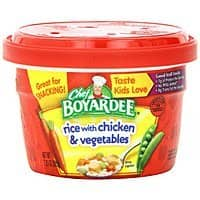Amazon Deal: 12-Pack Chef Boyardee: 7.25oz Rice w/ Chicken & Vegetables Microwavable Bowls or 15oz Big Beef Overstuffed Ravioli $7.20 or Less + Free Shipping