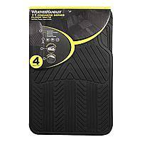 Sears Deal: 4-Piece WeatherHandler All Season Rubber Floor Mat Set (various colors) $9.99 + Free Store Pickup Sears.com