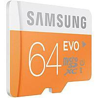 Amazon Deal: Price Drop - 64GB Samsung EVO Class 10 microSDXC Card w/ Adapter $18.74 + Free Store Pickup Walmart.com