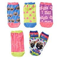 Kohls Deal: Kohls Cardholders: 10-Pair Pink Cookie Girls' No Show Socks