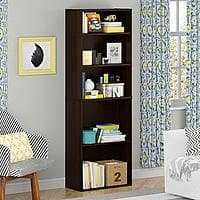 Kmart Deal: 5-Shelf Good To Go Bookcase (Cherry or Alder)