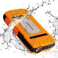 10400mAh Waterproof External Battery Charger with Strong LED Flashlight $13.99 AC +FS w/Prime @Amazon