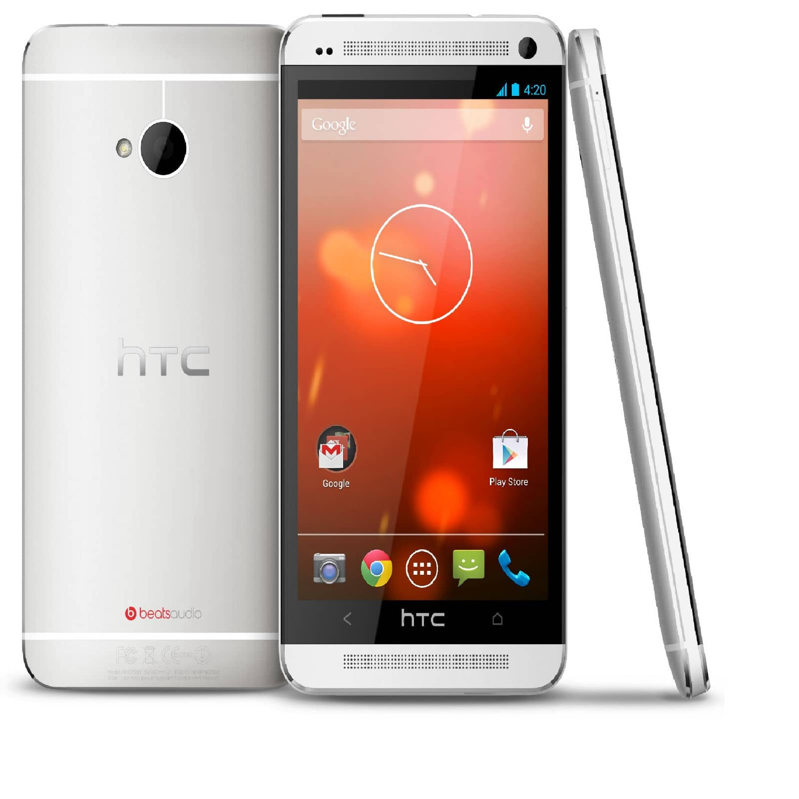 "32GB HTC One M7 4.7"" 1080p Unlocked Smartphone (Refurbished)  $215 + Free Shipping"