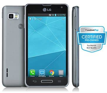FreedomPop LG Optimus F3 Smartphone (Certified Pre-Owned)  $29 + Free Shipping