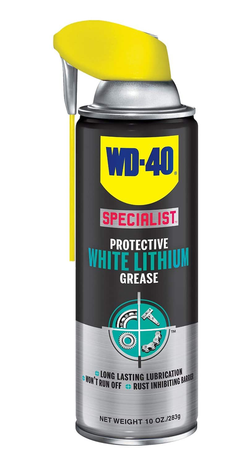 WD-40 Specialist Product: Rust Release Penetrant or White Lithium Grease Spray  Free & More After Rebate