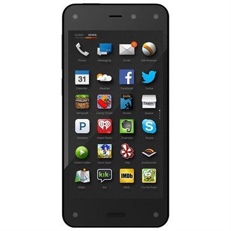 Brand new Amazon Fire Phone - 32GB - 4G LTE (Factory Unlocked) Smartphone + 1 Year Prime - $119.95 @ Rakuten
