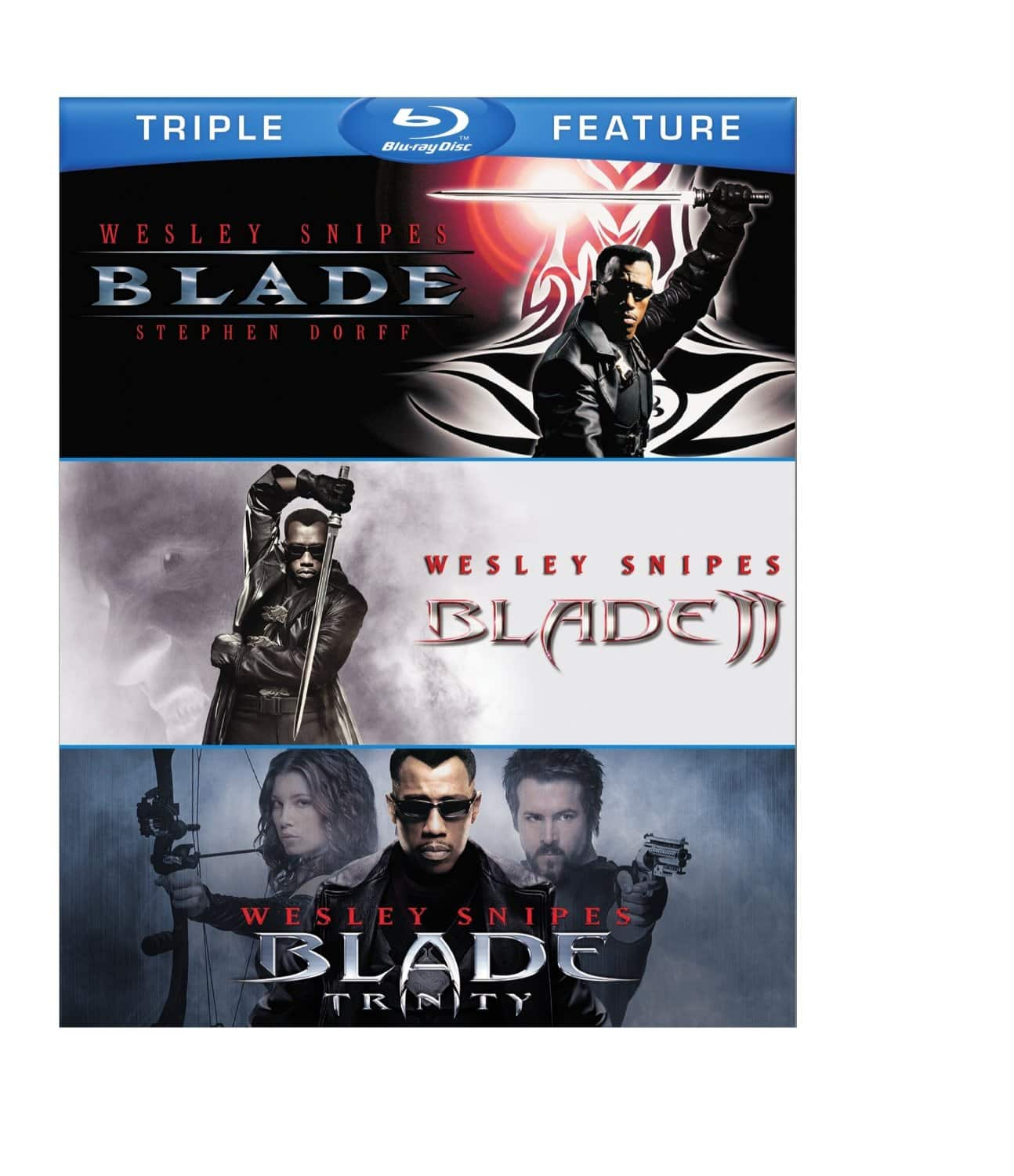 Blade Trilogy Blu-ray Set $12.49 at amazon or $14.99 at Best Buy
