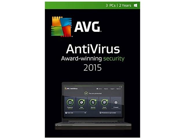 AVG AntiVirus 2015 (3 PCs / 2 Years)  Free After $25 Rebate + Free S/H