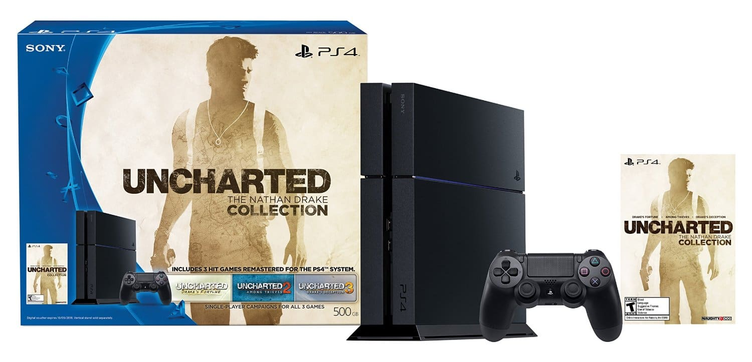 PlayStation 4 Uncharted: The Nathan Drake Collection Console Bundle  $299 + Free Shipping