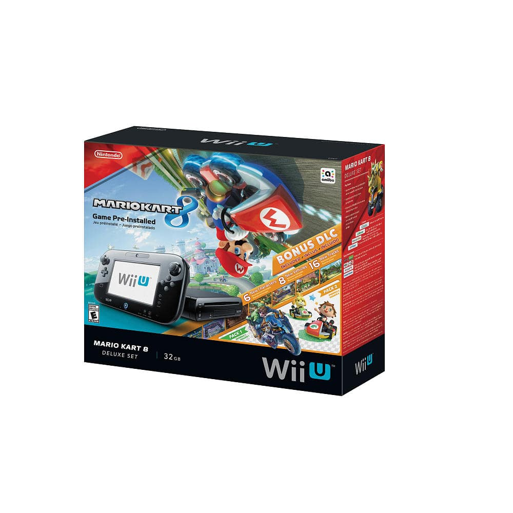 Nintendo Mario Kart 8 Wii U 32GB Deluxe Edition $225 + No Tax (with Amex offfer) from ToysRUs via NewEgg