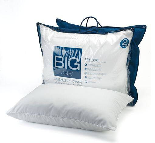 The Big One® 2-Pk. Gel Memory Foam Bed Pillows - Standard/Queen -$14.40 @ Kohls