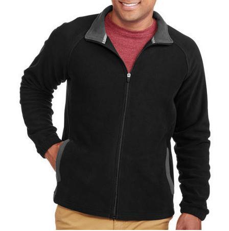 Starter Men's Full Zip Fleece @walmart for $6