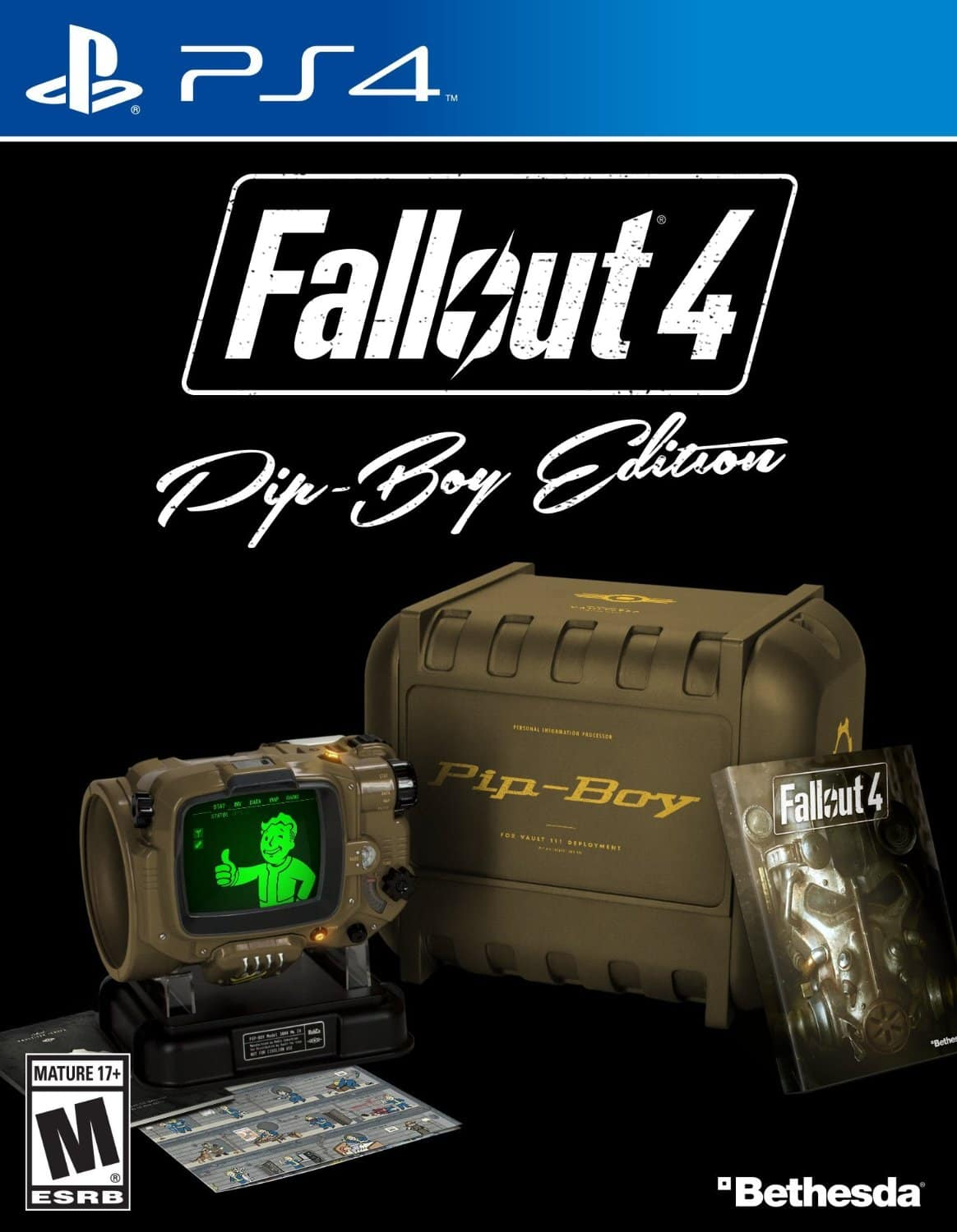 Amazon - FALLOUT 4 PIP-BOY EDITION XBOX ONE PS4 PC IN STOCK NOW $120