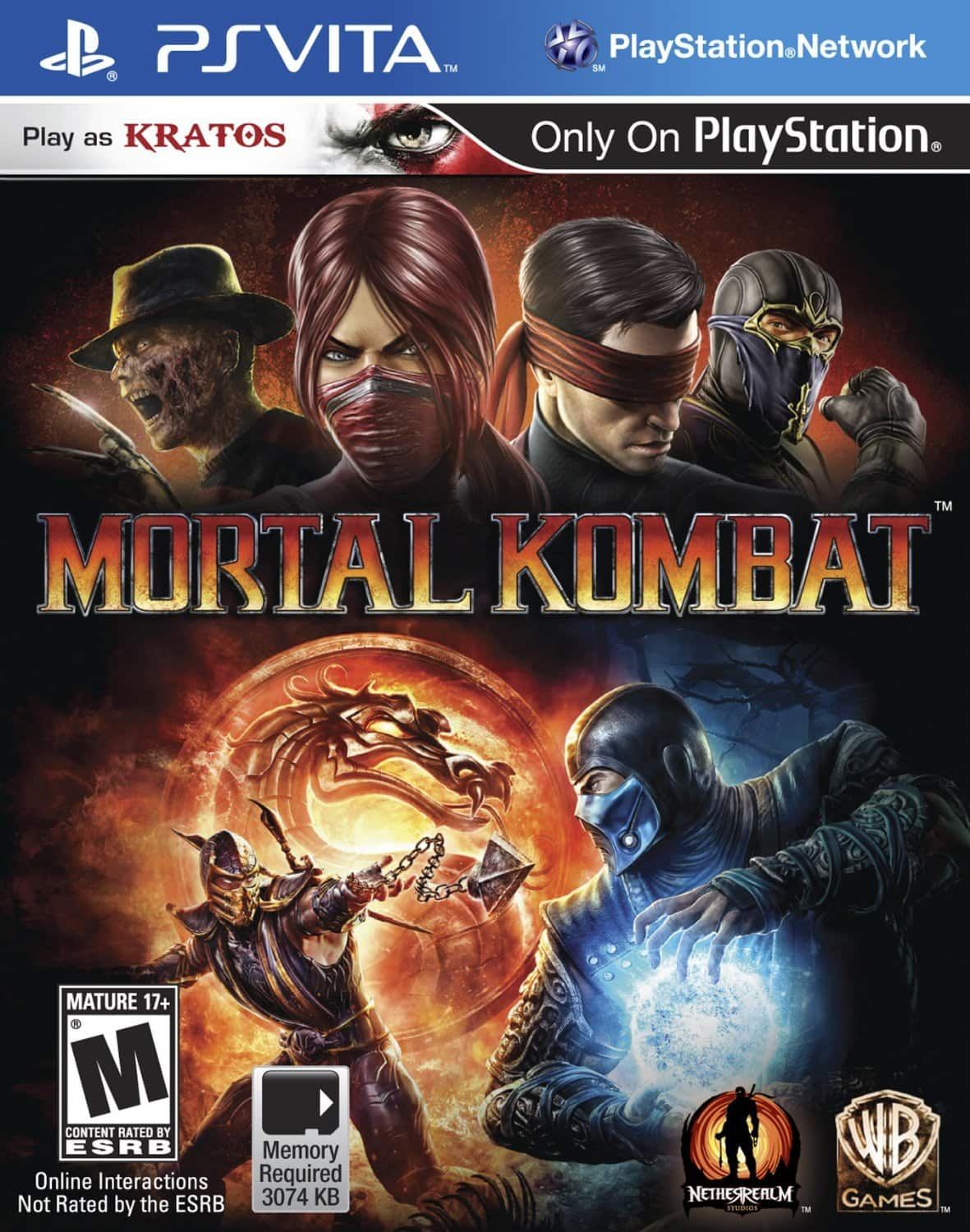 Mortal Kombat [PlayStation Vita] $10 @ Amazon ~ OOS but orderable