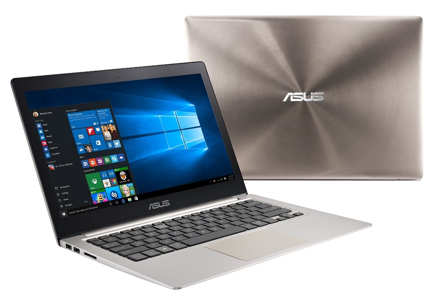 """ASUS ZenBook UX303UB-UH74T 6th Gen Core i7 6500U, 12 GB Ram, GT940M 2 GB, 512 GB SSD, 13.3"""" QHD+ at $1089 + Tax in Amazon with F/S"""