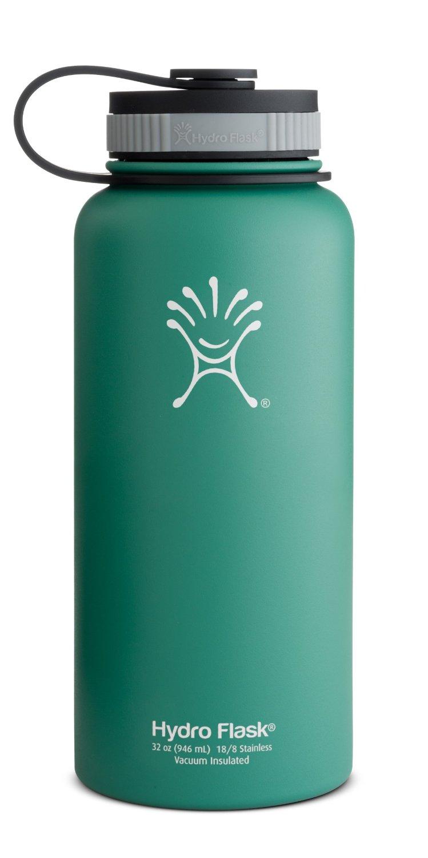 32oz Hydro Flask Stainless Steel Water Bottle (Green Zen)  $27.20