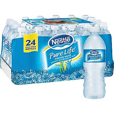 3-Case of 24-Count 16.9-oz Nestle Pure Life Bottled Water  $4.50 + Free Store Pickup