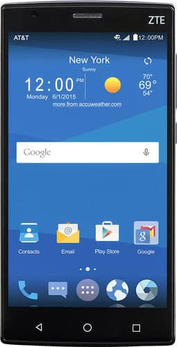 """16GB ZTE Zmax 2 5.5"""" AT&T GoPhone No-Contract Smartphone (Black)  $80 + Free Shipping"""
