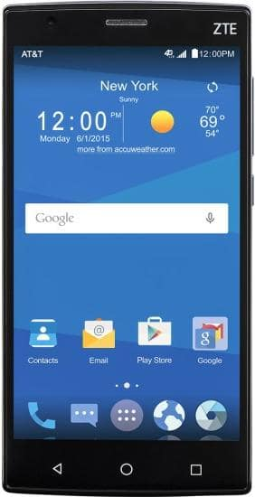 AT&T GoPhone - ZTE Zmax 2 4G with 16GB Memory No-Contract Cell Phone - Black for $79.99 + FS (Bestbuy) / (Walmart)