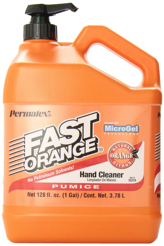 Prime Members: 1-Gallon Permatex Fast Orange Pumice Lotion Hand Cleaner w/ Pump  $8.70 + Free Shipping