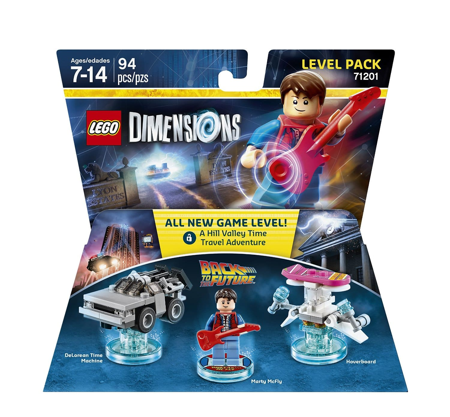 Lego Dimensions Back to the Future Level Pack  $12 or Less + Free Store Pickup