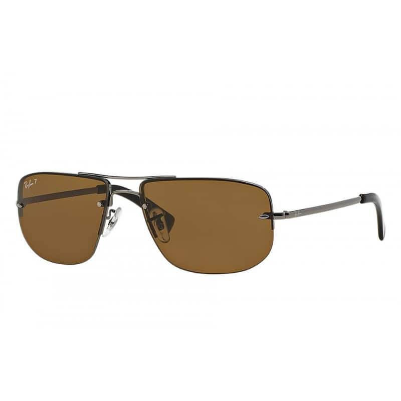 Ray-Ban RB3497 Polarized Brown Classic B-15 Aviator Sunglasses $70 f/s