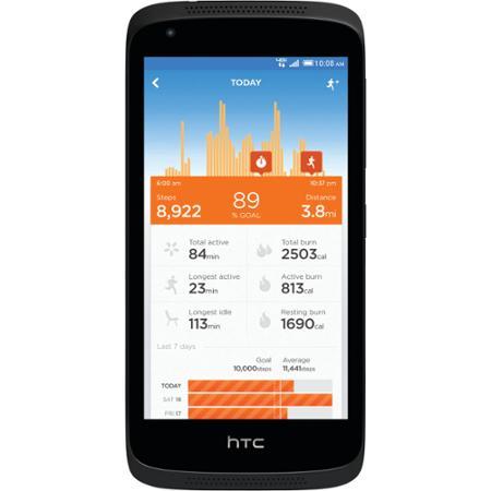 "Verizon HTC Desire 526 8GB Prepaid 4G LTE 4.7"" Smartphone w/ Bonus Jawbone Up Move $44.99 + Free Store Pickup Walmart.com"