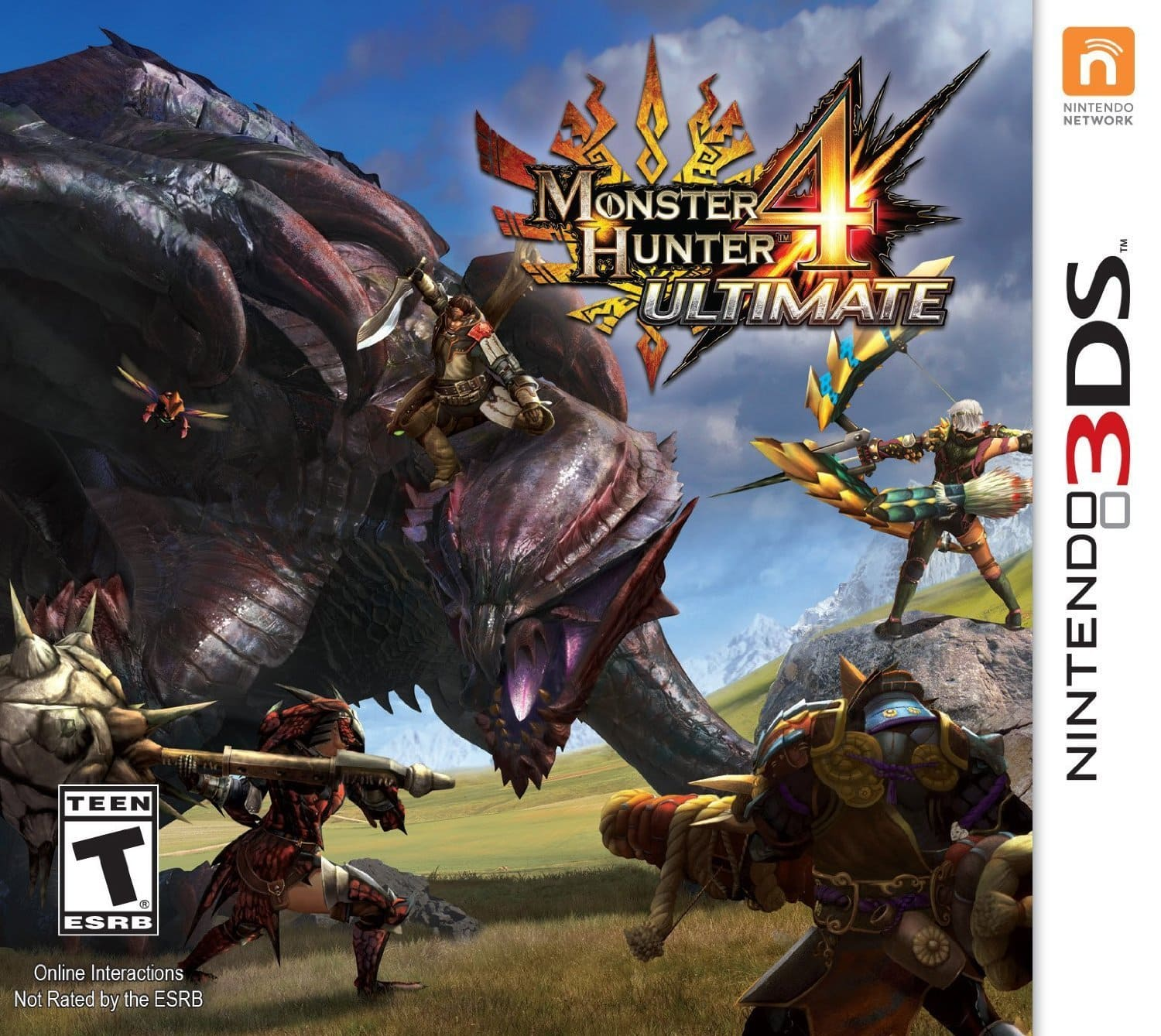Monster Hunter 4: Ultimate (Nintendo 3DS)  $20 + Free Store Pickup