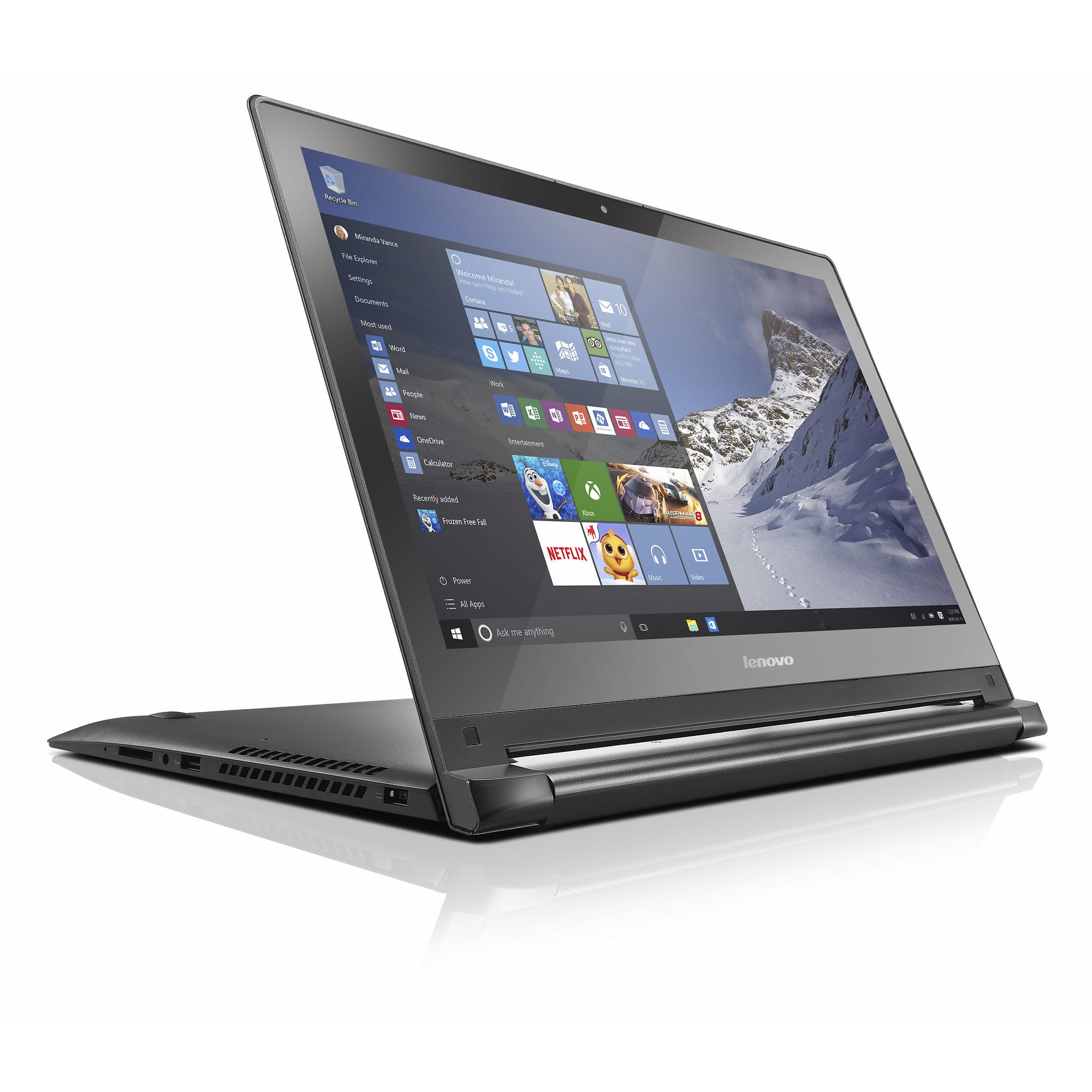 """Lenovo Edge 2-in-1 15.6"""" 1080P IPS Touch, Core i3-5020U, 6GB Ram, 500GB HDD, WiFi AC, Win10 Home 64 @ $350 at Bj's Wholesale with F/S"""