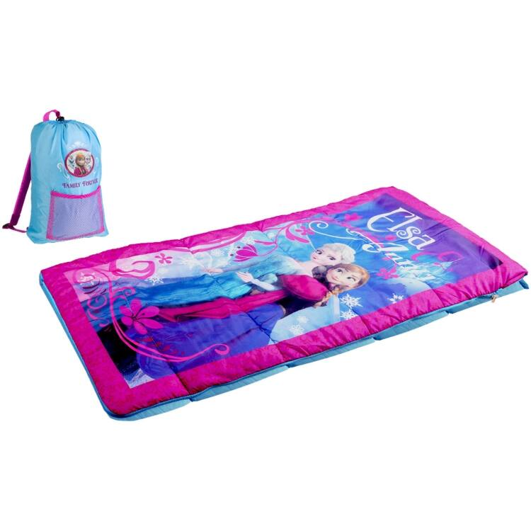 Kids Sleeping Bags w/ Backpacks or Slingbags: Spiderman or Cars $10, Frozen  $8.80 & More + Free S&H