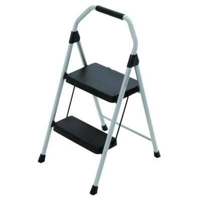 Gorilla Ladders 2-Step Compact Steel Step Stool with 225 lb. Load Capacity $12.97 + Free Store Pickup Homedepot.com